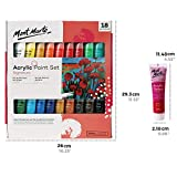 Mont Marte Acrylic Paint Set 18 Colours