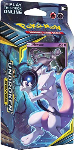 Pokemon TCG: Sun & Moon Unbroken Bonds Mewtwo Theme -
