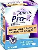 RepHresh Pro-B Probiotic Feminine Supplement, 30 Capsules