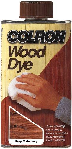 Ronseal CWDDM250 250ml Colron Wood Dye - Deep Mahogany