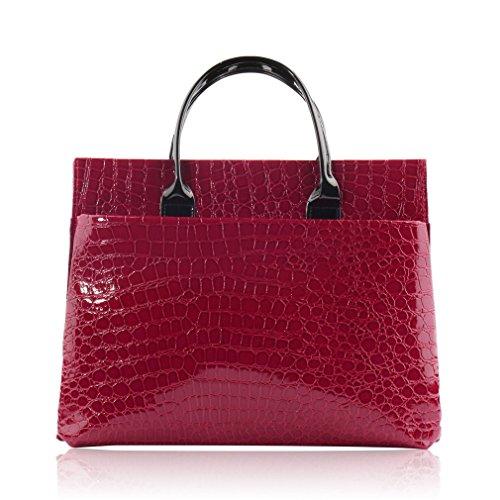 Red Wide Pour Noir Femme Vincenza Cabas RXIWwOqW0x
