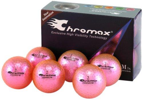 Chromax M1 Pink Golf Balls- 6pk.