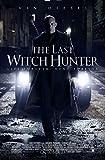 THE LAST WITCH HUNTER Original Movie Promo Poster 13.5x20 - VIN DIESEL - VERSION D