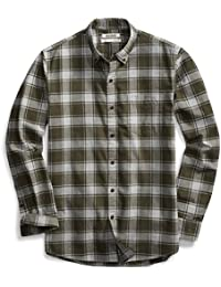 Men's Standard-Fit Buffalo Plaid Oxford Shirt