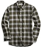 This weekend-perfect casual button-front shirt in plaid oxford fabric features a special wash for a soft feel and maximum comfort and a left-chest patch pocket