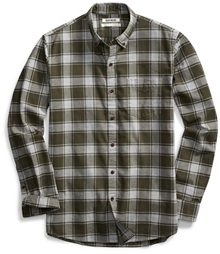 Goodthreads Men's Standard-Fit Buffalo Plaid Oxford Shirt