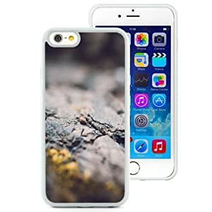 Fashionable and DIY Phone Case Design with Fault Rocks Closeup Ipod Touch 5 inch TPU case Wallpaper in White