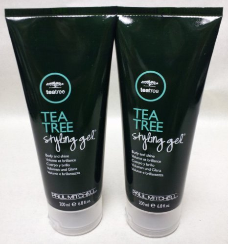 Paul Mitchell Tea Tree Styling Gel 6.8 Oz. Set of 2