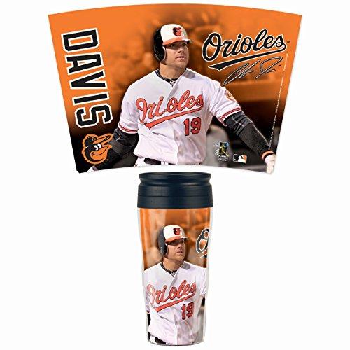 Wincraft MLB Baltimore Orioles 56314013 Travel Mug Contour, 16 oz