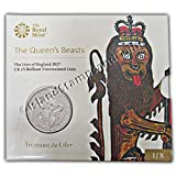 The Lion of England 2017 UK Brilliant Uncirculated £5 Coin