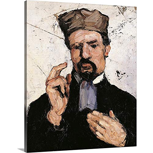 GREATBIGCANVAS Gallery-Wrapped Canvas Entitled Uncle Dominique (The Lawyer), by Paul Cezanne, 1866. Musee D'Orsay, Paris, France by Paul Cezanne 16