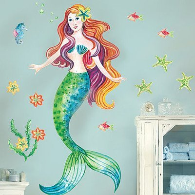 Funky D 233 Cor With Mermaid Wall Decals Funk This House