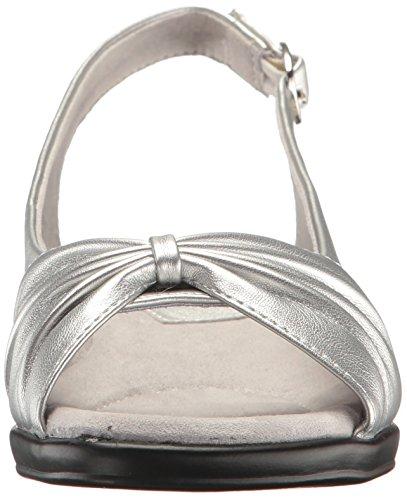 Kvinners Sølv Krenget Asia Enkle Street Sandal FqR88X
