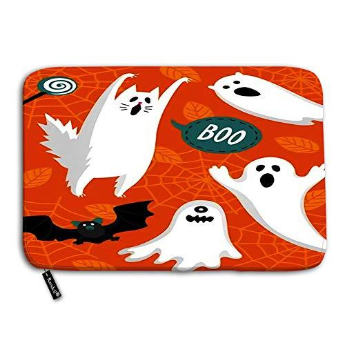 Modern Halloween Felt Door Banner - Randell Decorative Felt Floor Mat with