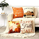 Anickal Fall Pillow Covers 18x18 Inch for Fall