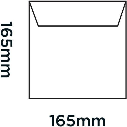 NGR165 Bo/îte de 100 Blake Purely Packaging CD 165 x 165 mm Enveloppes /à Bulles Carr/ées Rembourr/ée N/éon Rouge N/éon