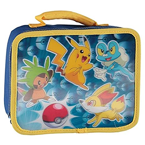 6fddafce3b Amazon.com  Pokemon 3D FX Pika Pop Insulated Lunch Bag-8