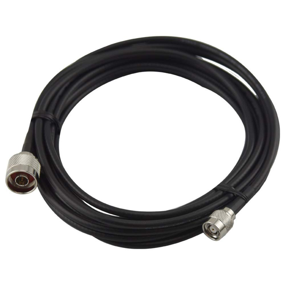 Wifi- Antennas 5 Metre Extension Cable - Standard Range (RP-TNC Male to N-Type Male) Wifi-Antennas