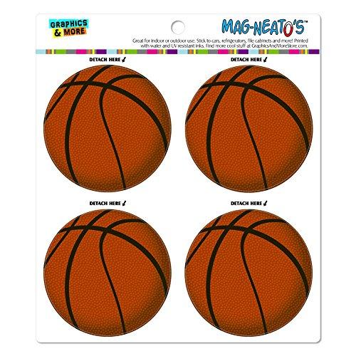 Basketball Locker Decorations (Basketball Automotive Car Refrigerator Locker Vinyl Magnet)