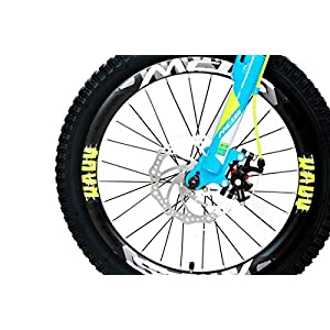 MDS UNLIMITED CYCLES-K8 Daredevil 20 Inch Cycle Fat Tyre No Gear Kids MTB Both Boys and Girls – Sky Blue