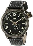 Vestal Unisex CTN3L07 Canteen Black and Antique Gold Watch