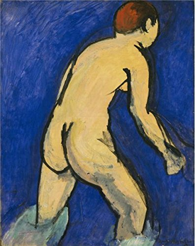 Husky Lambswool (Oil Painting 'Bather 1913-1917 By Henri Matisse', 8 x 10 inch / 20 x 26 cm , on High Definition HD canvas prints is for Gifts And Garage, Home Office And Laundry Room Decoration, graphs)