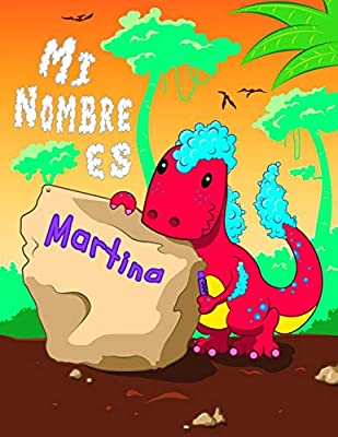 Mi Nombre es Martina: 2 libros de trabajo en 1! Nombre personalizado y libro de seguimiento