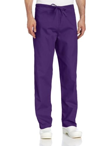 Landau Unisex Scrub Pant, Grape, Large (Scrub Purple Pants)