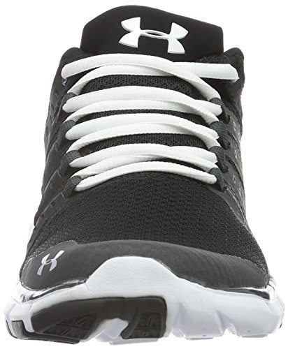 Under Armour Women's Micro G Limitless Training 2 Fitness Shoes, Black, M US Black (Black)
