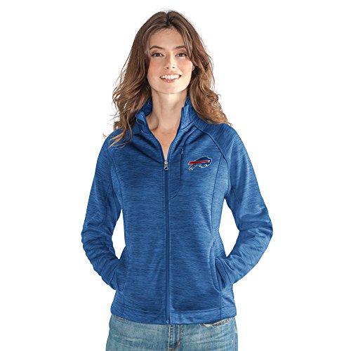 GIII For Her NFL Buffalo Bills Women's Hand Off Full Zip Jacket, Large, ()
