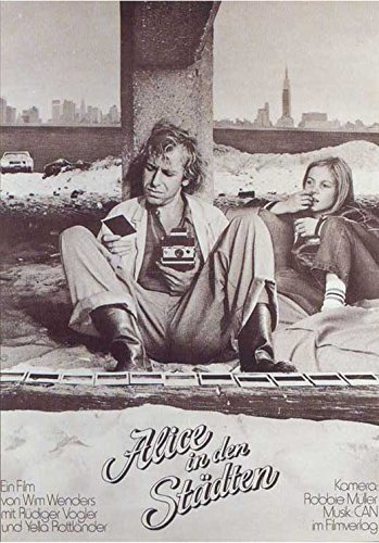 Alice In The Cities German Poster