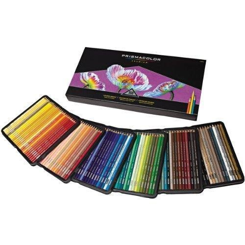 Prismacolor Quality Art Set Premier Soft Core Colored Pencils 150 Pack New