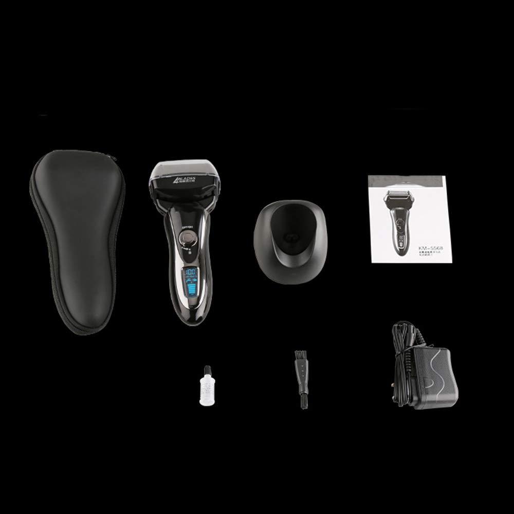 Afeitadora Eléctrica Para Hombres Multifunción Resistente Al Agua ...