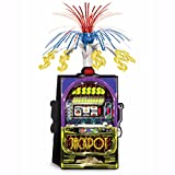 CASINO High Roller SLOT MACHINE CENTERPIECE Party Decoration POKER Game Night