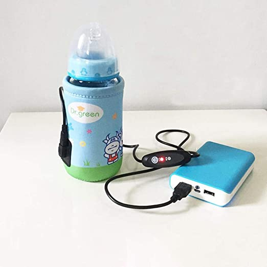 eginvic - Calentador de biberones USB para bebés, Bolsa para ...