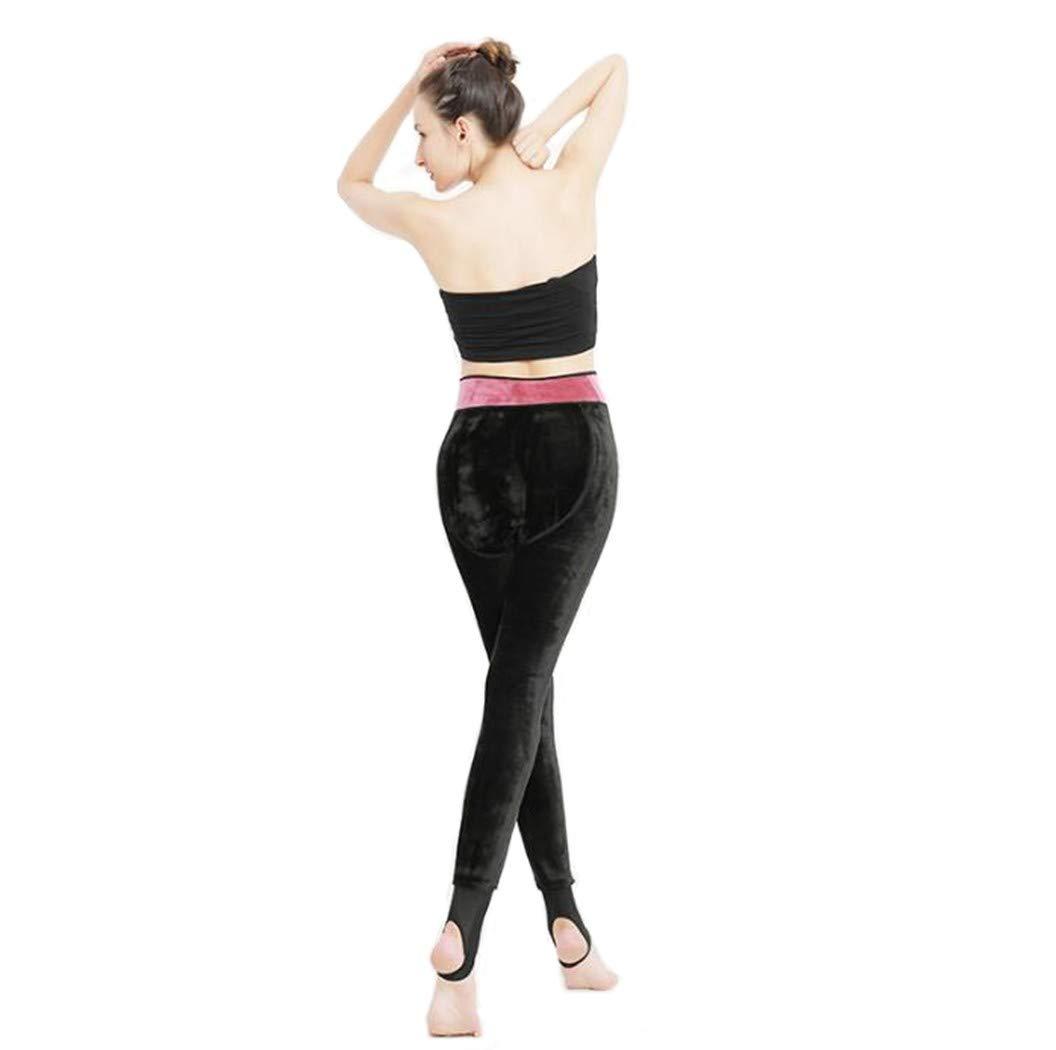 QINB Pantalone Caldo con spessori Invernali e Leggings in Velluto