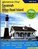 Savannah Georgia/Hilton Head Island South Carolina, American Map, 0841610282