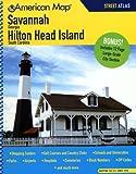 Savannah Georgia/Hilton Head Island South Carolina, American Map, 0841610282
