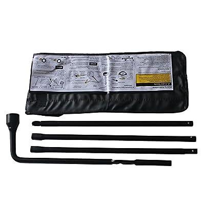 Spare Tire Scissor Jack Handle Lug Nut Tool Kit OEM For Chevy Silverado 1500 / GMC Sierra 1500 Spare Tire Tool Kit