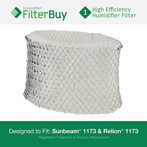1173 Sunbeam & Relion Humidifier Wick Filter. Designed & Engineered by FilterBuy in the USA.