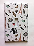 Paris Makeup Theme Light Switch Plate Cover Review and Comparison