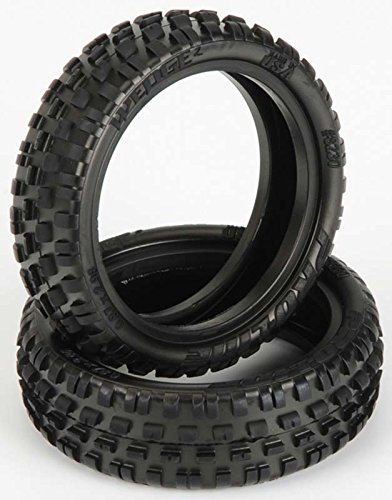 ProLine 8230103 Wedge Squared 2.2 2WD Z3 Medium Off Road Carpet Buggy Front (Low Profile Buggy Tire)