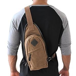 Khaki Brown JTC-8176-CTB Sling Bag
