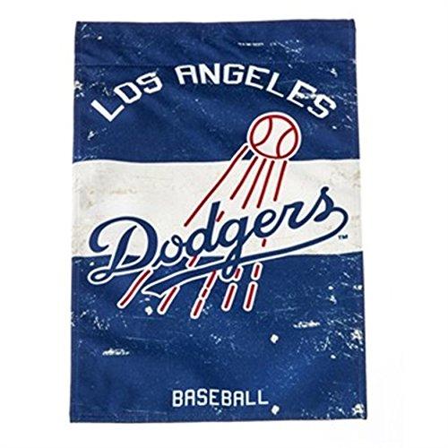 Los Angeles Dodgers EG VINTAGE Retro BANNER Premium 2-sided 28x44 House Flag Baseball