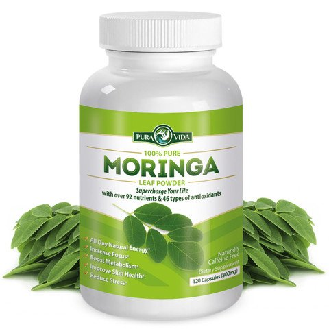 Organic Moringa Capsules Cultivation Processing product image