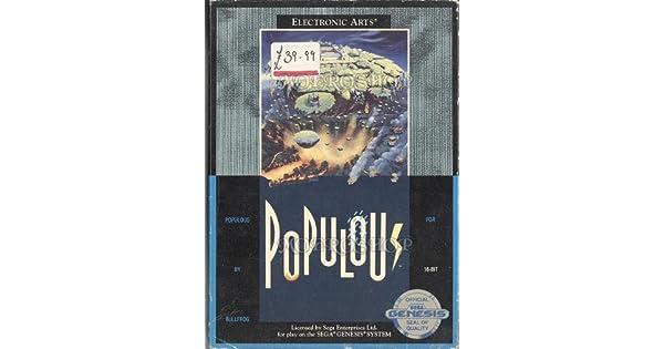 Amazon com: Populous - Sega Genesis: Video Games
