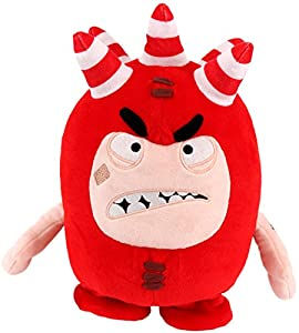 oddbods voice activated interactive fuse soft toy 28cm amazon co oddbods voice activated interactive fuse soft toy 28cm