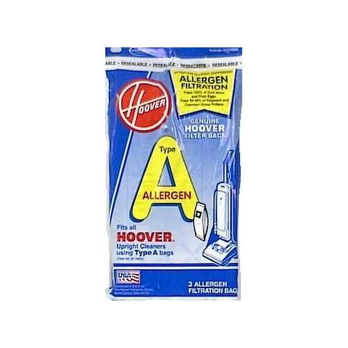 HOOVER/TTI Floor Care 4010100A 3Pk Hoover A Bag