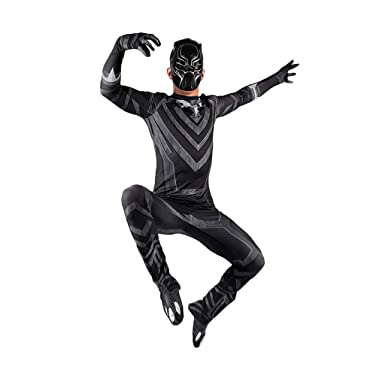 QWEASZER Traje de pantera negra para hombre Pantera negra Cosplay ...