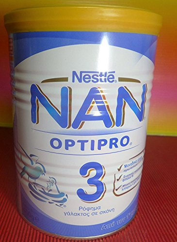 Nestle Nan 3 Milk From one year old 1 Tin X 400g